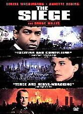 The Siege (DVD, 1999) Denzel Washington, Bruce Willis, Annette Bening NEW