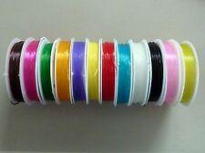 Elastikfaden Gummi Stretch Band 7 m Rolle 0,8 mm Farbwahl 1582