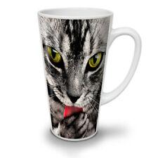 Cat Lick Paw Animal NEW White Tea Coffee Latte Mug 12 17 oz   Wellcoda