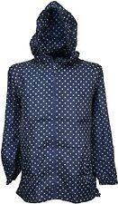 RJM Ladies Spots Pack Away Rain Mac Full Zip Semi Fitted Jacket