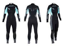 BODY GLOVE EVX Front Zip 3mm Wetsuit Damen Neoprenanzug Tauchanzug Surfen Kiten