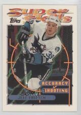 1995-96 Topps Super Skills #69 Jeff Friesen San Jose Sharks Hockey Card