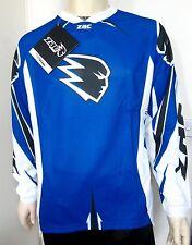 ZAC MOTOCROSS JERSEY NEW Yamaha Blue XS MD Lg XL 2XL Cycling Hiking Off road