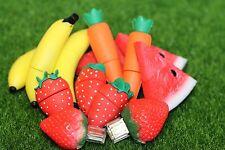 Very Cute Novelty Fruits & Veg.Pen/Flash Drive Storage Gift Memory Stick USB 2.0