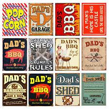 Gift For Him Retro metal Sign vintage pub man cave shed Garage Tools