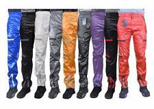 Shiny Countdown Parachute Pants 80s Nylon Wet Look Bottoms Cal Surf New