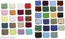 Schabracke Lammfell komplett Fellrand ringsum Dressur 96 Farbkombinationen