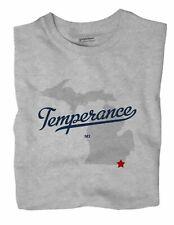Temperance Michigan MI Mich T-Shirt MAP