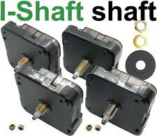 Quartz clock movement, I-shaft, Young Town 12888, all shaft lengths, UK next day