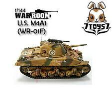 War Room 1/144 M4A1 US Sherman Tank #F Prepainted Pre-assembled WWII Bid WR001F