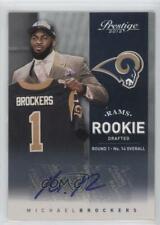 2012 Playoff Prestige #213 Michael Brockers St. Louis Rams Auto Football Card