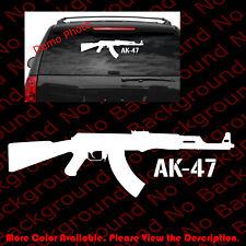 LARGE - Kalashnikov AK-47 Vinyl Decal Window Car Gun Rights/Assault Rifle FA049