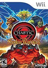 Chaotic: Shadow Warriors WII New Nintendo Wii
