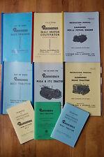 RANSOMES MG 2 5 6 40 Trattore Crawler elenco delle parti Manuale Diesel Motore A Benzina