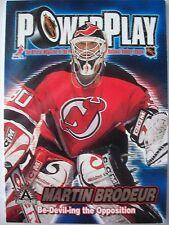 2002 ADRENELINE POWER PLAY # 22 MARTIN BRODEUR !!! BOX # 3