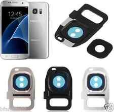 Samsung Galaxy S7 S7 Edge Rear Back Camera Glass Lens Cover Frame