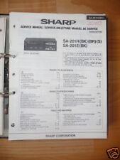 Service-Manual Sharp SA-201H Receiver,ORIGINAL