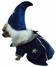 Halloween chien costume. Robe de fantaisie. Sorcier Avec Chapeau & Stars. Maintenant prix réduit