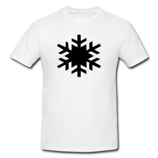 SNOWFLAKE Mens or Lady Fit T Shirt T-Shirt NOVELTY XMAS CHRISTMAS