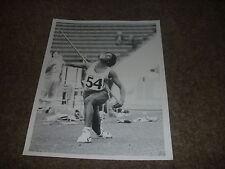 Tessa SANDERSON  Athletics JAVELIN   Original PRESS  Photo  3/08/1974