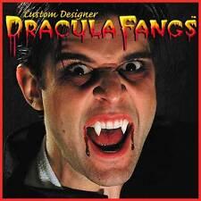 Dracula Fangs Realistic Vampire Teeth MEDIUM Men Twilight Reusable