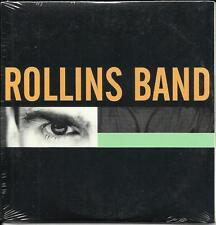 Henry ROLLINS BAND PROMO CD w/ 3 UNRELEASED TRX & 2 LIVE TRX & VIDEO Black Flag