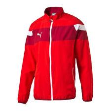 PUMA Spirit II de punto chaqueta Rojo Blanco F01