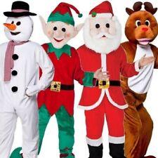 Navidad Adulto Muñeco De Nieve Santa Reno elfo disfraz mascota