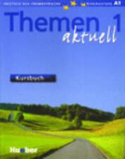 Hueber THEMEN 1 Aktuell Kursbuch mit CD-ROM @BRAND NEW BOOK@ German Language
