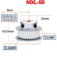 50 Teeth BF-type MXL Timing Belt Pulley for 6mm 10mm Belt RepRap 3D Printer CNC