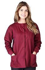 Unisex 3-Pocket Medical Hospital Nursing Warm Up Scrub Jacket G102