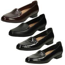 'Clarks Ladies' Low Heel Slip On Shoes - Keesha Luca