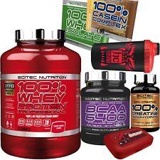 SCITEC 100% Whey Protein Professional 2350gr. Proteine +375 Aminoacidi bcaa 6400