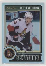 2014-15 O-Pee-Chee Rainbow #329 Colin Greening Ottawa Senators Hockey Card