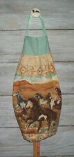 Mustang Horses Running Southwest Plastic Grocery Bag Rag Sock Holder Organizer