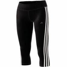 Adidas Climalite 3-Streifen Damen 3/4 Tight Sporthose Caprihose CE2048 neu
