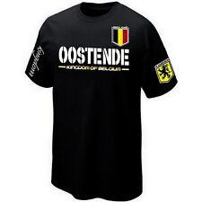 T-Shirt OOSTENDE VLAANDEREN FLANDRE BELGIË BELGIUM ultras- Maillot Belgique