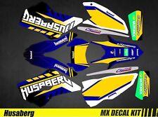 Kit Déco Moto pour / Mx Decal Kit for Husaberg FE/TE - Goldentyre