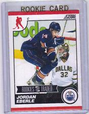 "10-11 Score Jordan Eberle ""Rookies and Traded"" Rookie Card RC #566 Mint"