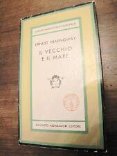 IL VECCHIO E IL MARE HEMINGWAY MONDADORI 1963 EDITORE