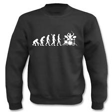 Pullover Evolution Schlagzeug, Sweatshirt