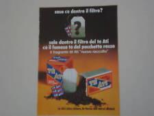 advertising Pubblicità 1972 TE' ATI