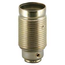 Douille métal douille E14 laiton / métal avec jupe filetée Douille pour lampe