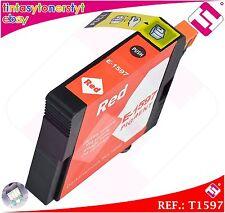 TINTA ROJA T1597 COMPATIBLE IMPRESORAS NONOEM EPSON CARTUCHO ROJO NO ORIGINAL