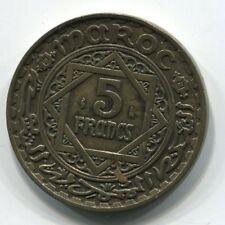 5 FRANCS   MAROC 1365