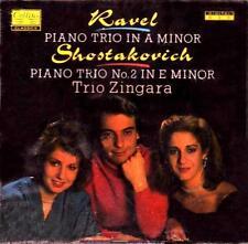 Ravel: Piano Trio in A minor / Shostakovich: No. 2 in E minor Trio Zingara RAR!