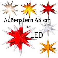 LED ! Estrella Exterior, de adviento, Navidad, exteriores, bruto, 65cm