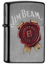 Zippo Jim Beam Grey Dusk auf Wunsch mit pers. Gravur 60000874 Neu Feuerzeug