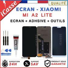 ECRAN LCD + VITRE TACTILE POUR XIAOMI MI A2 LITE NOIR / BLANC + OUTILS + COLLE