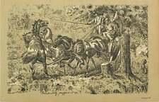 1900 Stagecoach intrappolata nella struttura di stampa